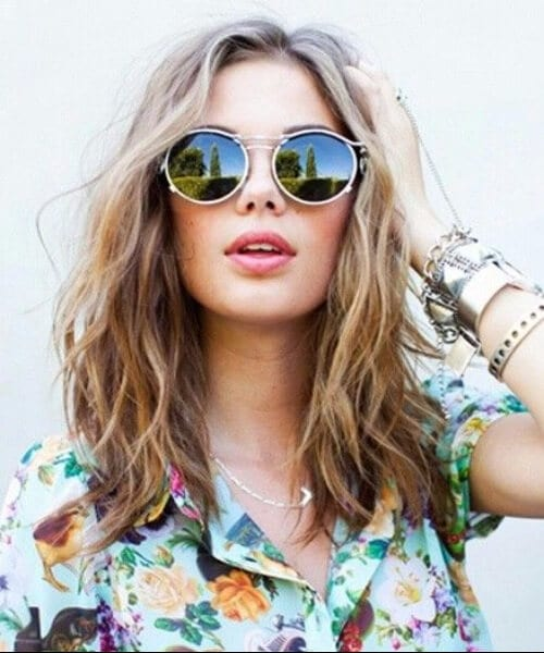 summer shoulder length hairstyles