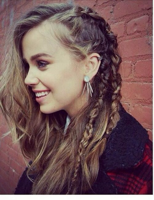 viking updos for long hair