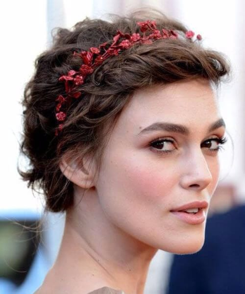 Keira Knightley updos for short hair