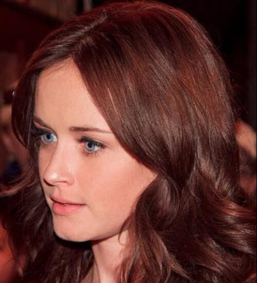 alexis bledel auburn hair color