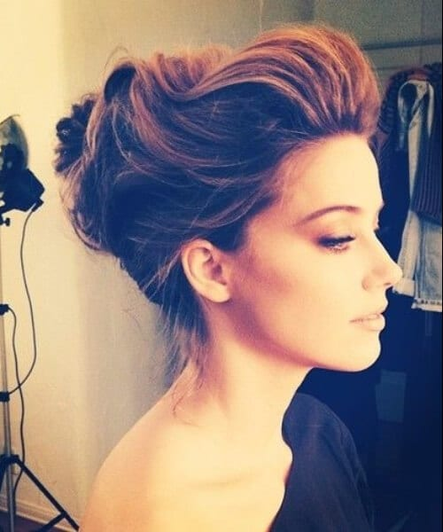 amber heard prom updos