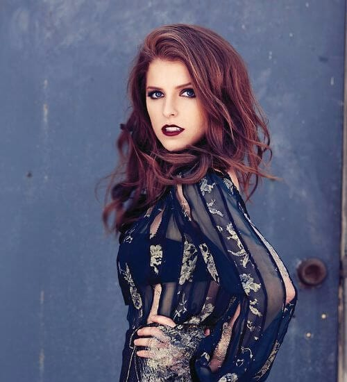 anna kendrick auburn hair color