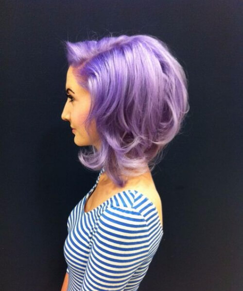 asymmetrical orchid bob sew in hairstyles