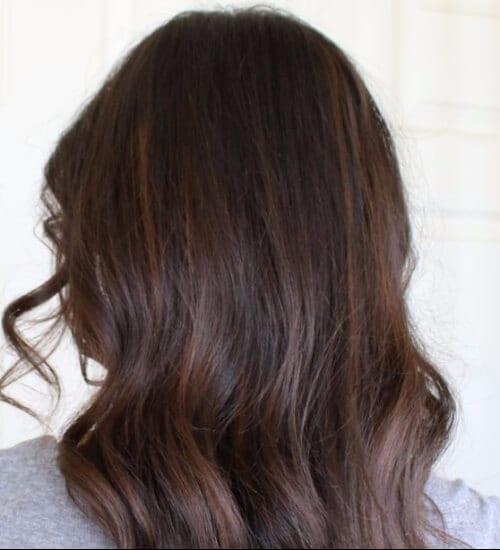 auburn balayage highlights auburn hair color