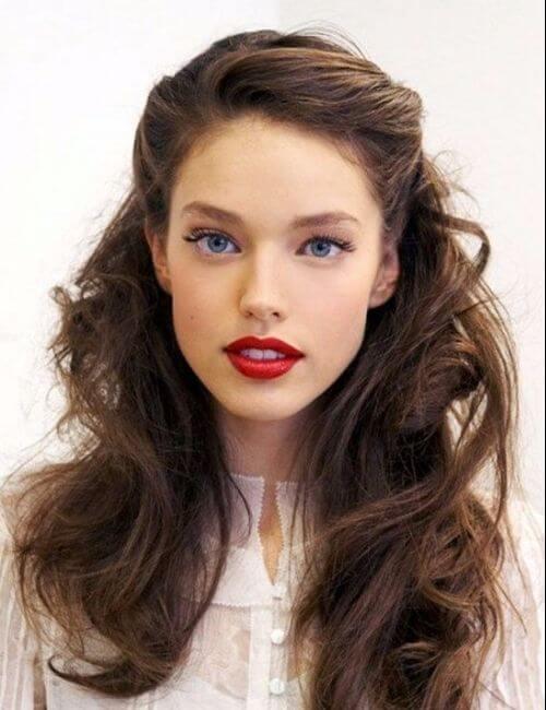 chic vintage bridesmaid hairstyles
