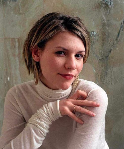 claire danes short blonde hair