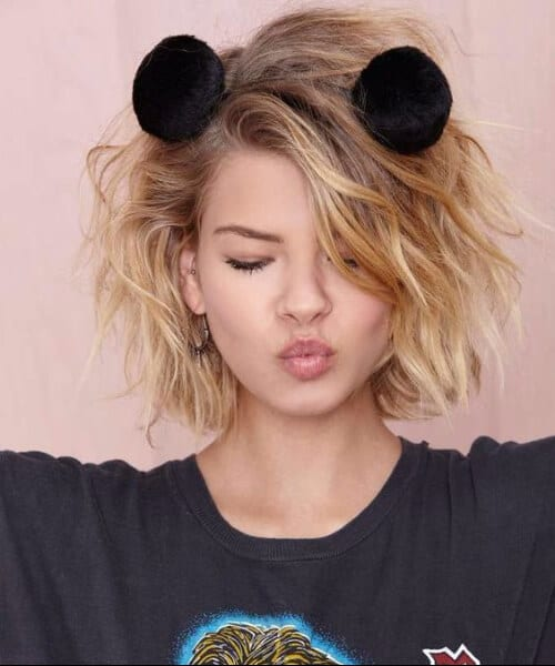 cute sweet updos for short hair