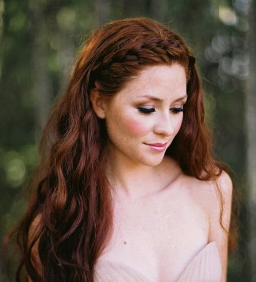 fairy auburn hair color