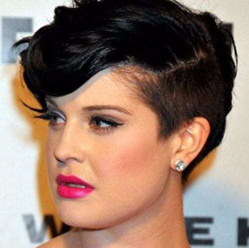 kelly osbourne haircuts for round faces