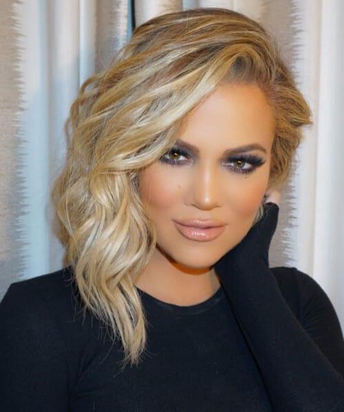 khloe kardashian shag haircut