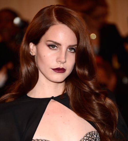 lana del rey auburn hair color