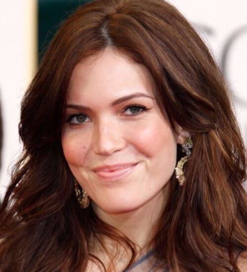 mandy moore auburn hair color