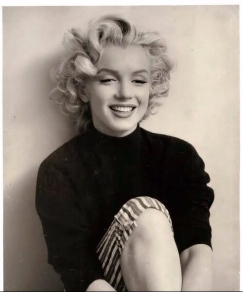 marilyn monroe updos for short hair