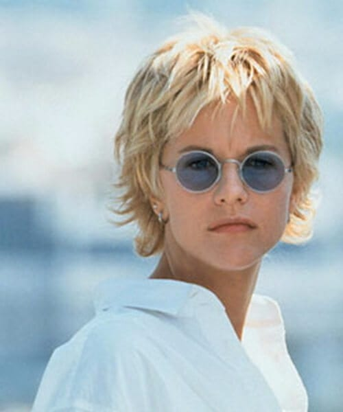 meg ryan short blonde hair