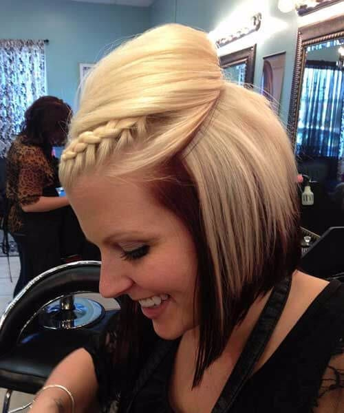 messy updos with braids updos for short hair