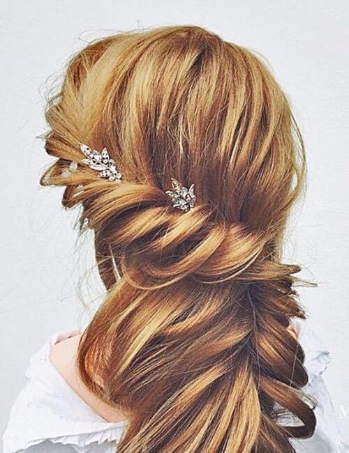 romantic bridesmaids hairstyles