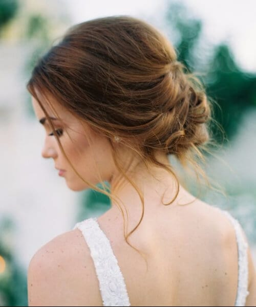 romantic twisted prom updos