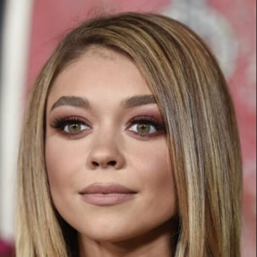 sarah hyland haircuts for round faces