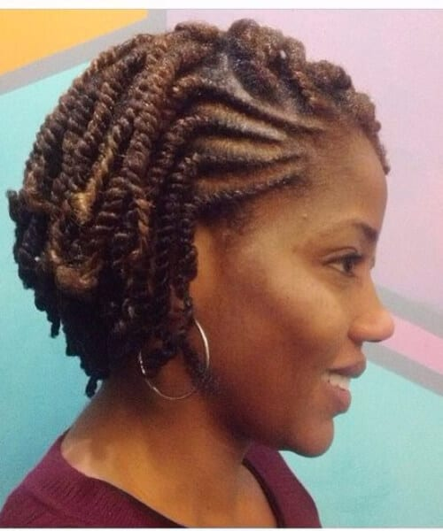 short senegalese twist
