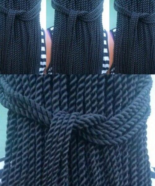 simple rope twist senegalese twist