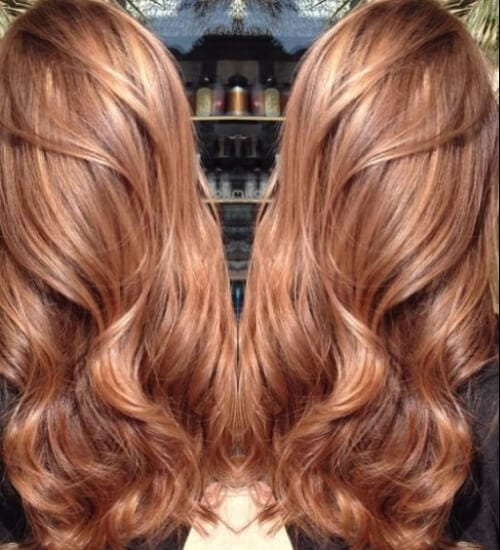 sweet auburn hair color caramel