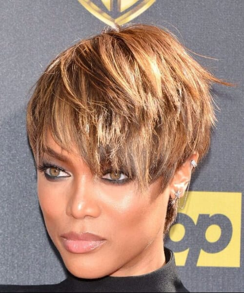 Tyra Banks Ponytail Hairstyles: 70 Beautiful Updos For Short Hair