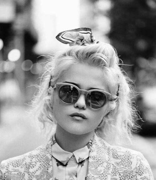 New Wave, Maison Kitsune' SS 2014 Lookbook short blonde hair