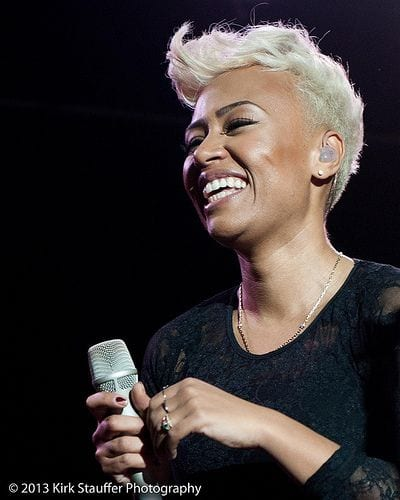 emeli sande short blonde hair
