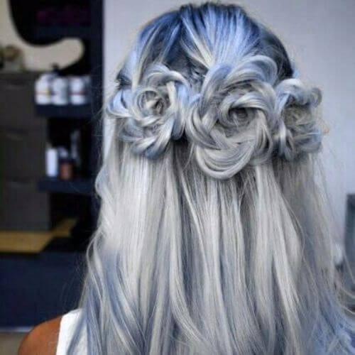 Wedding Updos Mermaid Roses