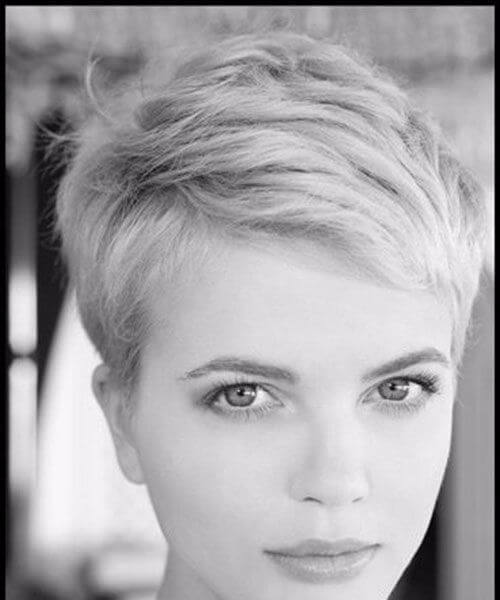 short blonde hair perfect pixie