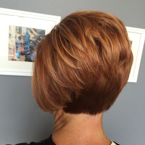 Ginger Red Bob