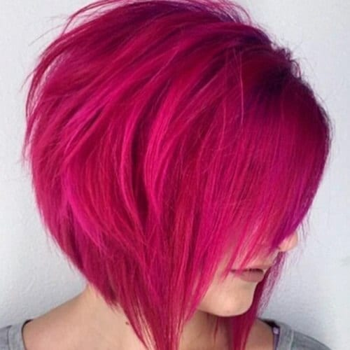 Hot Pink Bob