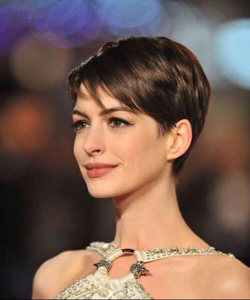 anne hathaway short hairstyles