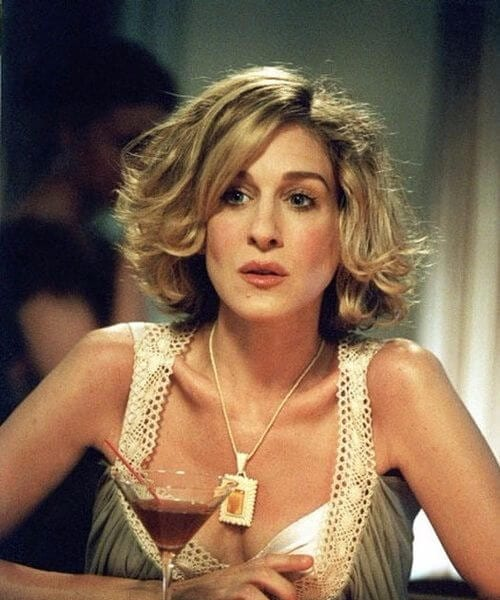 carrie bradshaw short hairstyles