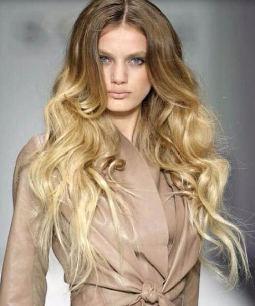 catwalk ombre hair