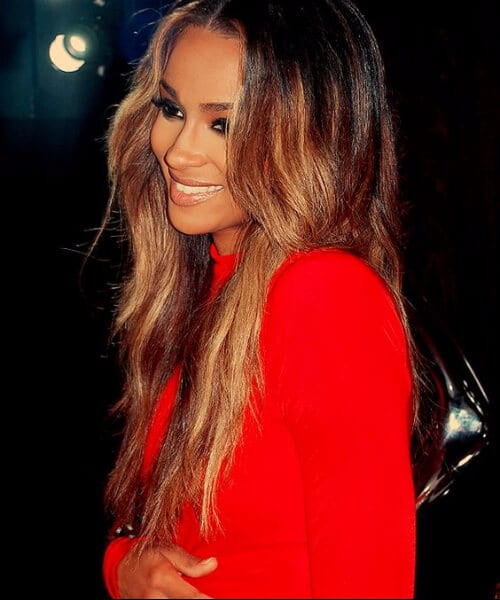 ciara ombre hair