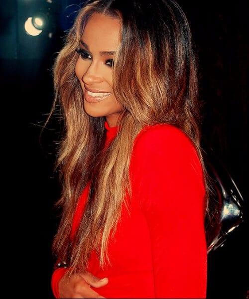 ciara ombre hair