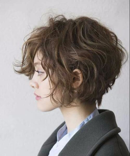 curly wavy short hairstyles