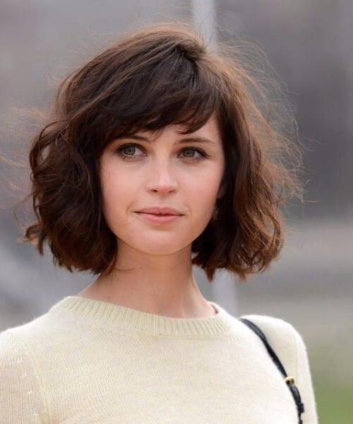 felicity jones short hairstyles
