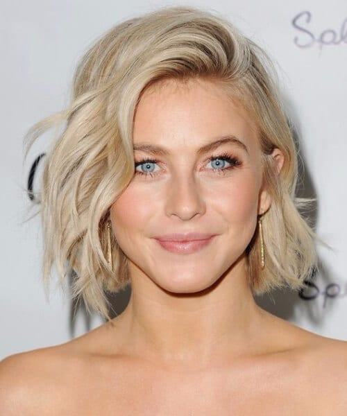 julianne Hough tousled bob short hairstyles