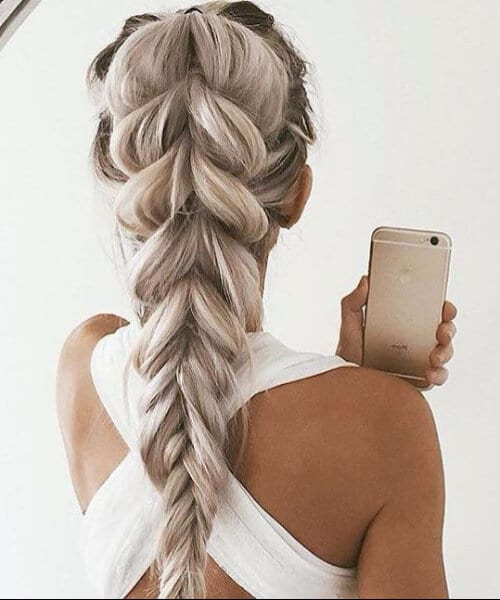 jumbo fishtail long hairstyles