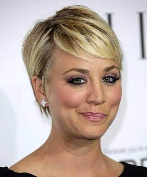 kaley cuoco short hairstyles