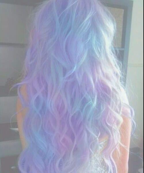 kawaii Grunge punk pastel pastel ombre hair