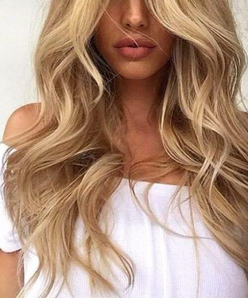 malibu blonde hair perfect pout