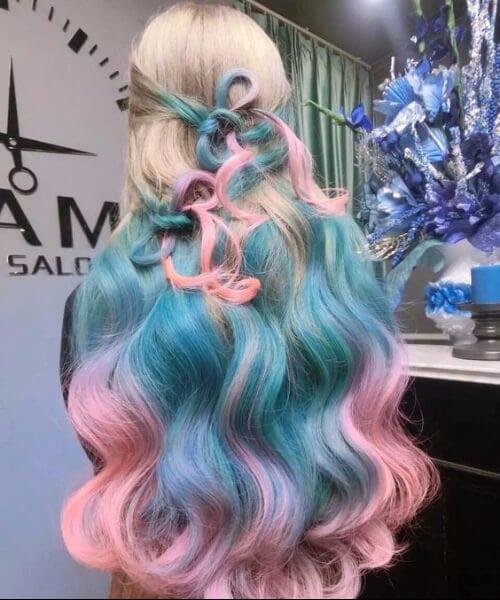 mermaid ombre hair