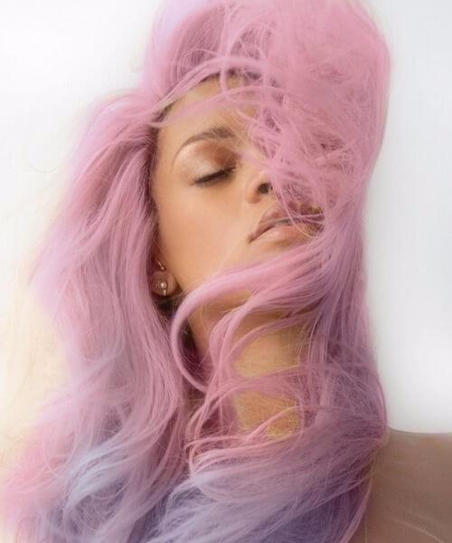 rihanna ombre hair