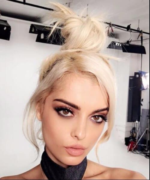 vanilla ice cream blonde hair