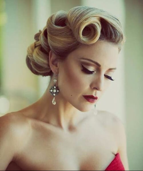 victory rolls long hairstyles