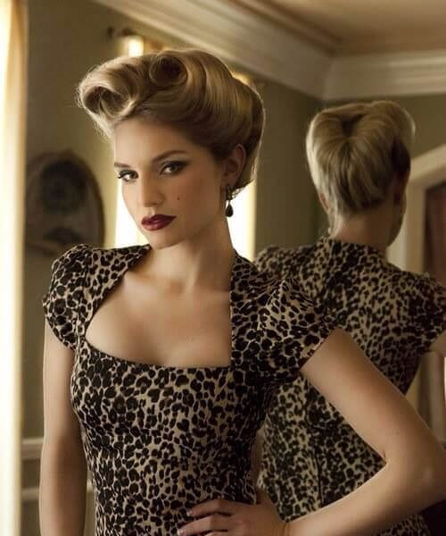 vixen pin up hairstyles