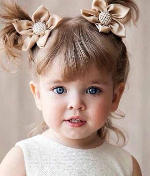 toddlers pigtails little girl hairstyles